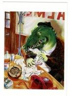 Ref 1365 - 1986 Artist Johanne Ryder Modern Art Postcard - Snappy Deals - Postcards