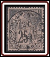 Colonies Générales - N° 54 (YT) N° 54 (AM) Oblitéré De Gros-Morne / Martinique. - Alphée Dubois