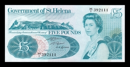 St. Helena 5 Pounds 1976 - 1981 Pick 7b SC UNC - Isla Santa Helena