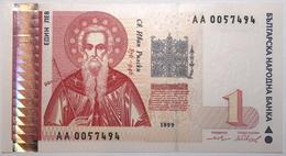 Bulgarie - 1 Lev - 1999 - PICK 114 - NEUF - Bulgarije