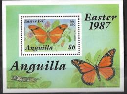 ANGUILLA 1987 BUTTERFLIES MNH - Butterflies