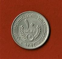 MAURITANIE / 10 OUGUIYA / 1974 - Mauretanien