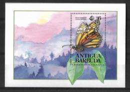 ANTIGUA BARBUDA 1992 BUTTERFLIES MNH - Butterflies
