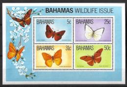 BAHAMAS 1983 BUTTERFLIES - Butterflies