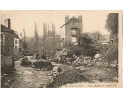 PONT AVEN (Finistère), Vieux Moulin De L'Avant Port - Pont Aven