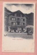 OUDE POSTKAART ZWITSERLAND - SCHWEIZ -    MURREN - HOTEL BELMONT - BE Berne