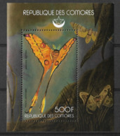 COMORES 1978 BUTTERFLIES,  MNH - Butterflies