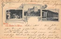 LPD58 Gruss Aus Baden B. Wien Postcard - Baden Bei Wien
