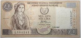 Chypre - 1 Pound - 1997 - PICK 60a - TB+ - Chypre
