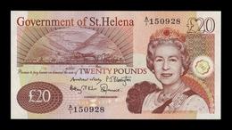 St. Helena 20 Pounds 2012 Pick 13b SC UNC - Isla Santa Helena