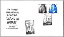 "XXII TORNEO INT. DE AJEDREZ ""CIUDAD DE LINARES"". Linares, Jaen, Andalucia, 2005 - Chess"