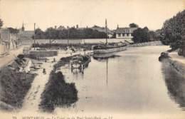Montargis - Le Canal Vu Du Pont St-Roch - Montargis