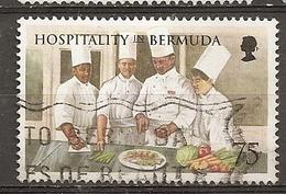 Bermuda 1998 Chefs Preparing Food Obl - Bermuda