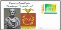 Spagna/Spain/Espagne: Intero, Stationery, Entier. Imperatore Vespasiano - Geschiedenis