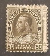 "CANADA YT 99 OBLITÉRÉ ""GEORGE V"" ANNÉES 1911/1916 - Gebruikt"