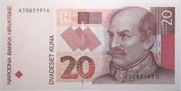 Croatie - 20 Kuna - 1993 - PICK 30a - NEUF - Croacia