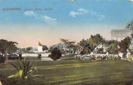 Egypt Egypte Alexandrie  Jardin Nubar Pacha     M 3302 - Alexandria