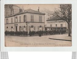 C.P.A  DE L' ECOLE SECONDAIRE N.D DU PETIT MONTROUGE - Paris (14)