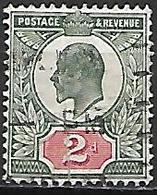 GRANDE BRETAGNE  /  U.K.    1902.   Y&T N° 109 Oblitéré.   Cote  15,00 Euros - 1902-1951 (Re)