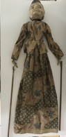 Ancienne Marionnette Indonésie - Bois Articulé - Autres