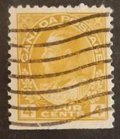 "CANADA YT 112 OBLITÉRÉ ""GEORGE V"" ANNÉES 1918/1925 - Gebruikt"