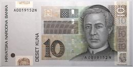 Croatie - 10 Kuna - 2001 - PICK 38a - NEUF - Croacia