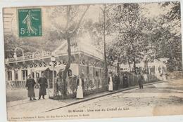 Saint-Mandé  94   Une Vue Du Chalet Du Lac Et La Rue Tres Animée - Saint Mande