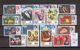 FIDSCHI-INSELN -   232/48  Freimarken 1969  Kpl.postfr - Fiji (...-1970)