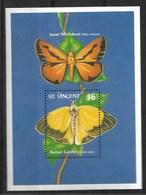 ST. VINCENT 1989 BUTTERFLIES MNH - Butterflies