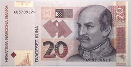 Croatie - 20 Kuna - 2001 - PICK 39a - NEUF - Croacia