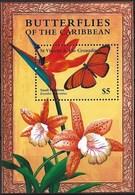 ST. VINCENT 2001 BUTTERFLIES MNH - Butterflies