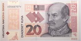 Croatie - 20 Kuna - 2014 - PICK 44a - NEUF - Croacia