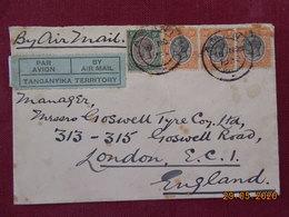 Lettre De 1932 Du Tanganyika Pour Londres - Kenya, Uganda & Tanganyika