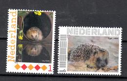 Nederland Persoonlijke Zegel : Egel, Hedgehog  2x - Unused Stamps