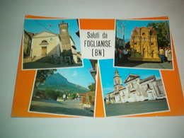 SALUTI DA FOGLIANISE-VEDUTE-NV - Benevento