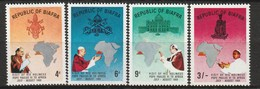 NIGERIA - BIAFRA - N° 35/8 ** (1969) Visite Du Pape Paul VI - Nigeria (1961-...)