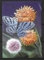 ST. VINCENT& GRENADINES 2001 BUTTERFLIES MNH - Butterflies