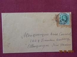 Lettre De 1931 Du Nigeria Pour Albuquerque (New Mexico) - Nigeria (...-1960)