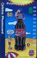 AUSTRALIE  -  TELSTRA  -  Coca-Cola  -  0$ - Australia