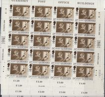 Europa Cept 1990 Guernsey 4v  Complete Sheetlets ** Mnh (F8236) - 1990