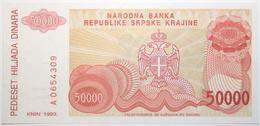 Croatie - 50000 Dinara - 1993 - PICK R21a - NEUF - Croacia