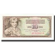 Billet, Yougoslavie, 10 Dinara, 1968, 1968-05-01, KM:82b, NEUF - Joegoslavië
