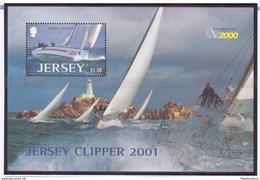 Jersey 2001 - MNH ** - Bateaux - Michel Nr. Bloc 31 (gbj266) - Jersey