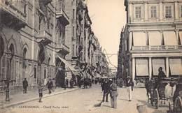 Egypt Egypte Alexandrie  Rue Cherif Pacha Street     M 3304 - Alexandria