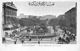 Egypt Egypte Alexandrie  Place Mahamed Ali Pacha     M 3306 - Alexandria