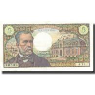 France, 5 Francs, Pasteur, 1968, 1968-04-04, TTB+, Fayette:61.7, KM:146b - 1962-1997 ''Francs''
