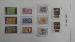D87 Collection En DAVO Du Vatican De 1978 à 2000 En Timbres Et Blocs **.  A Saisir !!! - Sammlungen (im Alben)