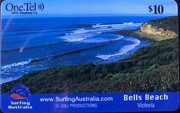 AUSTRALIE  -  One.Tel   -  Surfing Australia  -  $ 10 - Australia