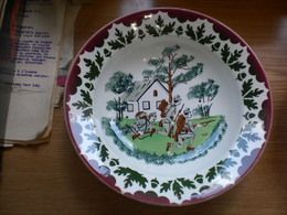 Old WW1 Porcelain Plate Hungarian 23 Cm Diameter - 1914-18