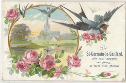 De St Germain Le Gaillard Je Vous Apporte Ces Fleurs Et Toute Mon Amitié - France